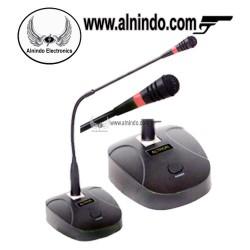 Standing mic radio rig