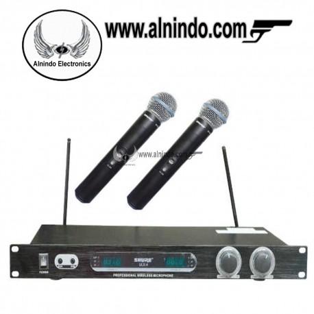 Shure wireless microphone ULX4