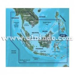Peta Laut Bluechart G2 Bagian Barat