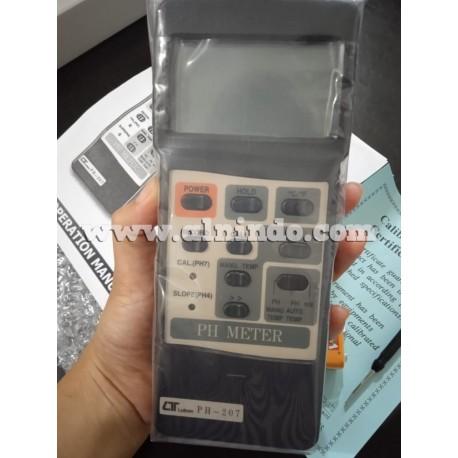 PH Meter Lutron PH-207 + PE-03 PH Electrode