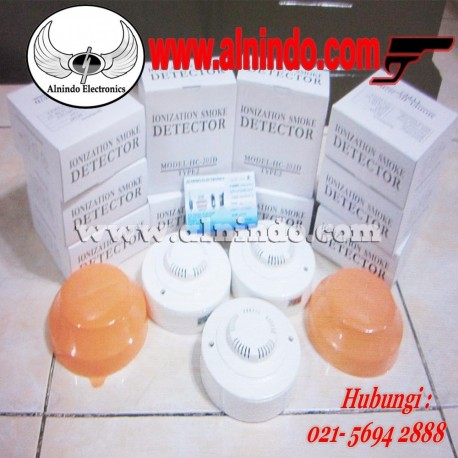 Ionization smoke detector HC-202d